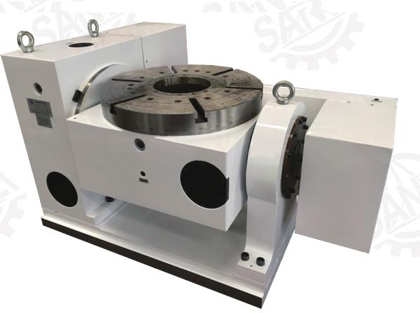数控回转工作台是数控铣床的常用部件